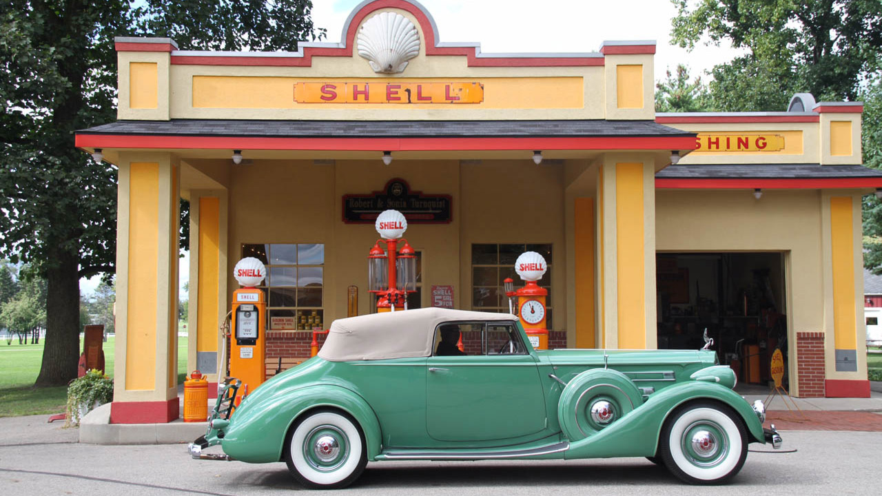 1937 Packard 12 Convertible Victoria